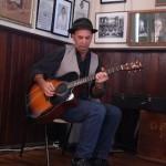 Bruce on guitar